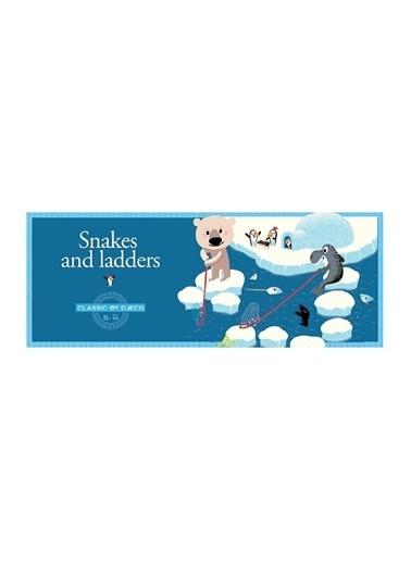 Djeco Djeco Klasik Oyunlar / Snake And Ladders Pembe
